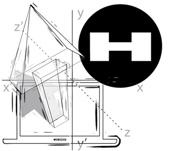 Harvei illustrations: 3d corner